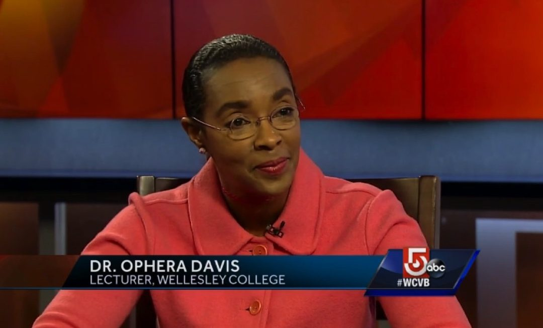 """TV interview in Boston in CBS affiliate WCVB  """"CityLine Women in Charge: Hillary, Wellesley, and the Glass Ceiling"""""""