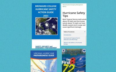 Week #10 Hurricane Season Series – Find your state's Preparedness Guide