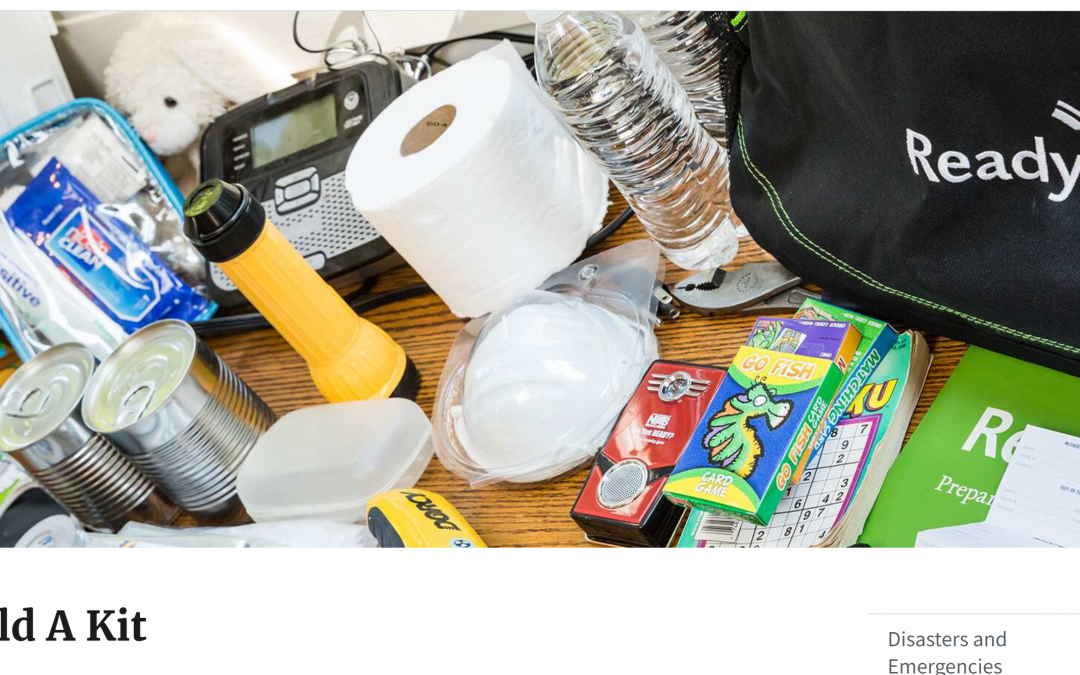 """Week #17 Hurricane Season Series:                Get your """"Hurricane Kit"""" Ready NOW before the next storm arrives."""